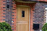 European oak stable door